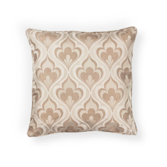 Kas Flames Square Throw Pillow