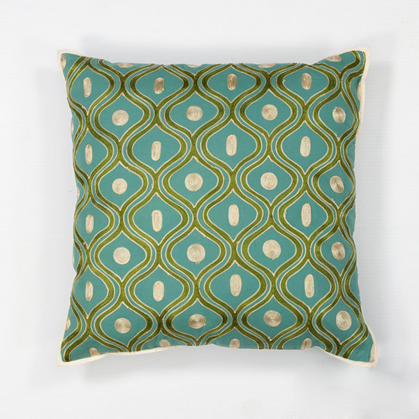 Kas Gramercy Square Throw Pillow