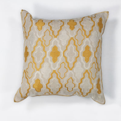 Kas Groove Square Throw Pillow