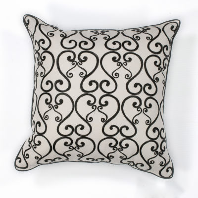 Kas Luminous Square Throw Pillow