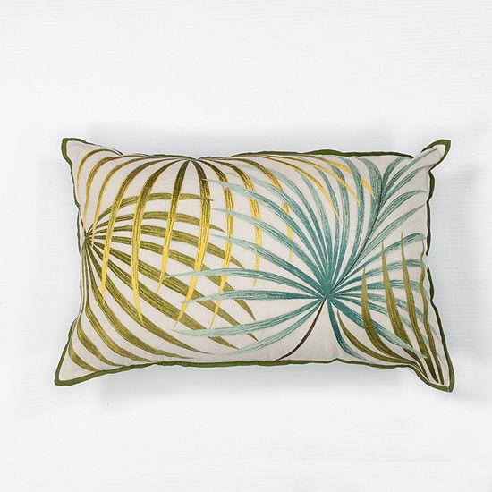 Kas Palms Rectangular Throw Pillow