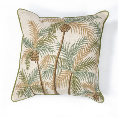 Kas Springs Square Throw Pillow