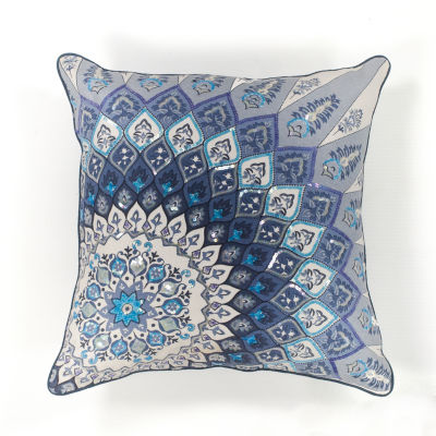 Kas Starburst Square Throw Pillow