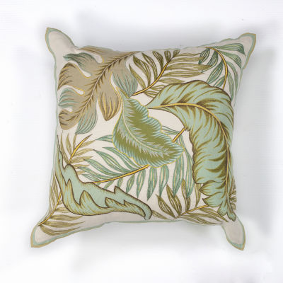 Kas Tropics Square Throw Pillow