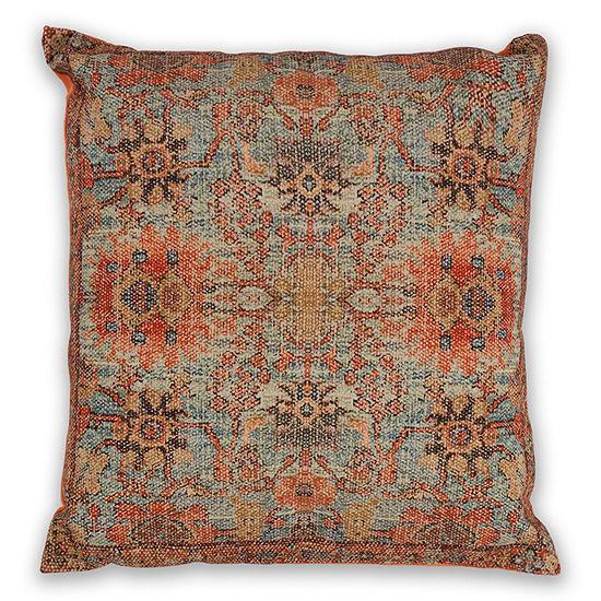 Kas Zena Square Throw Pillow