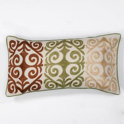 Kas Damask Rectangular Throw Pillow
