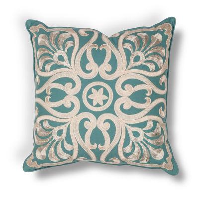 Kas Damask Square Throw Pillow