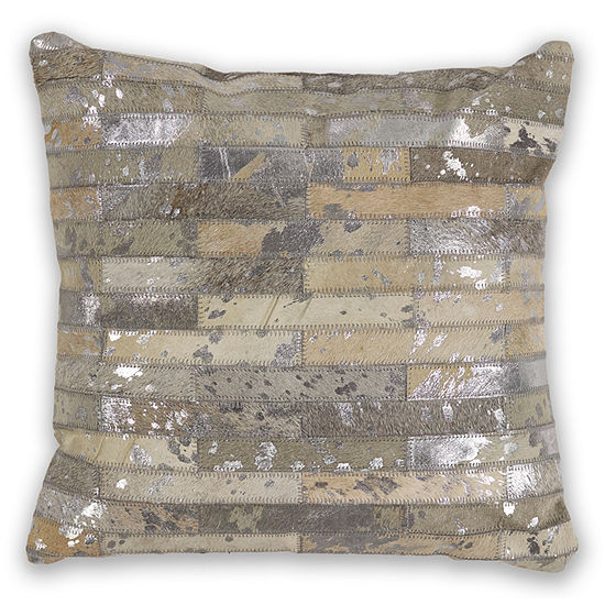 Kas Subway Square Throw Pillow
