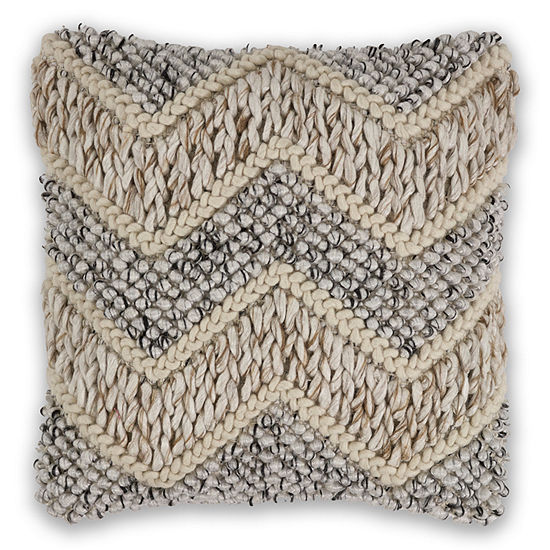 Kas Elements Square Throw Pillow