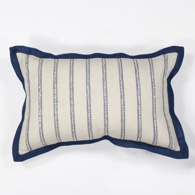 Kas Lines Rectangular Throw Pillow