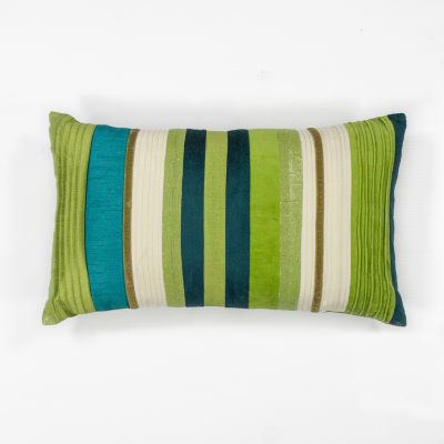 Kas Stripes Rectangular Throw Pillow