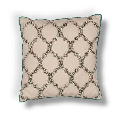 Kas Geo Square Throw Pillow
