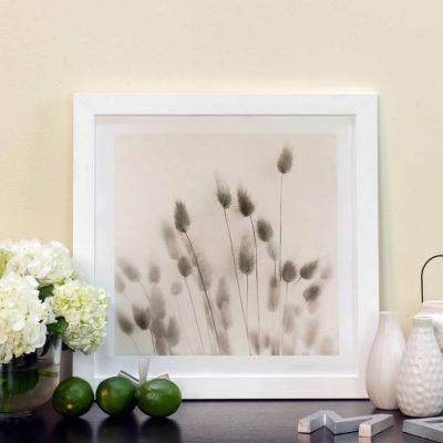Italian Tall Grass No. 2 by Alan Blaustein White Framed Fine Art Paper Print