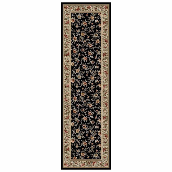 Concord Global Trading Ankara Collection Floral Garden Rectanular and Round Rugs