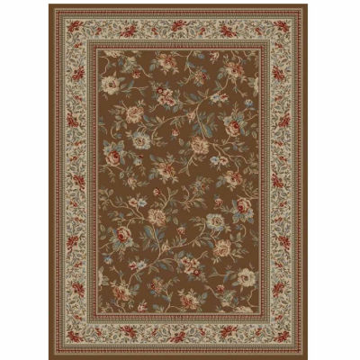 Concord Global Trading Ankara Collection Floral Garden Area Rug