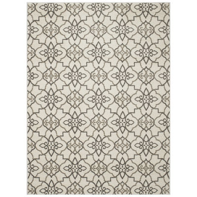 Concord Global Trading New Casa Collection Trellis Area Rug