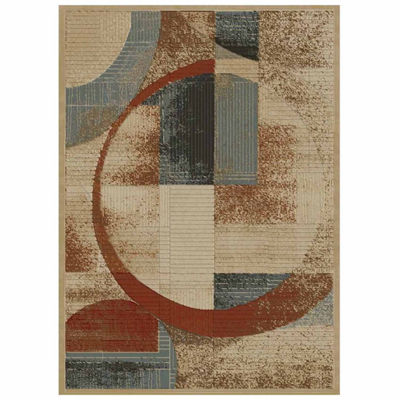 Concord Global Trading Soho Collection Shapes Tonel Area Rug