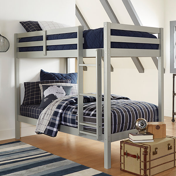 Caspain Twin Over Twin Bunk Bed in a Box