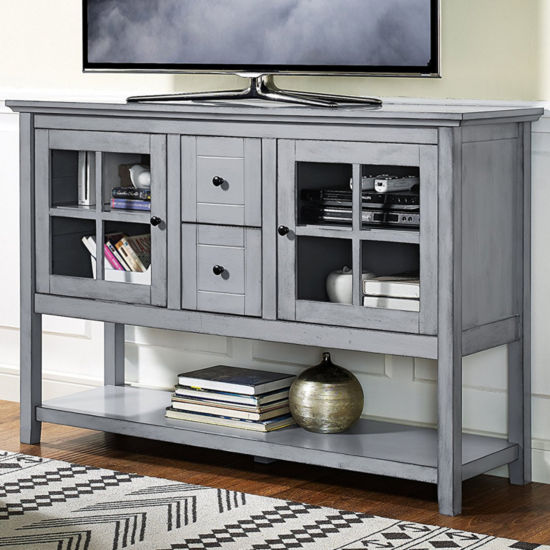"52"" Wood Buffet/Console TV Stand"