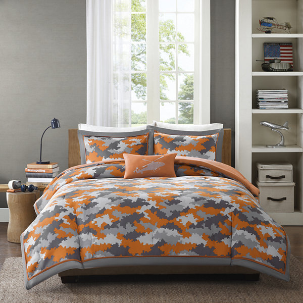 Camo Bedroom Set. Mi Zone Mikey Camo Comforter Set Mizone