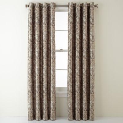 Royal Velvet Blaine Grommet Top Blackout Curtain Panel