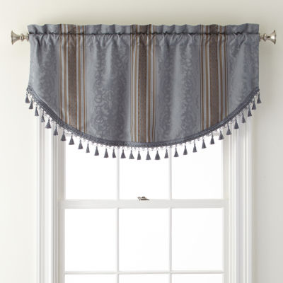 Royal Velvet® Carissa Rod-Pocket Festoon Valance