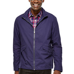 Claiborne Mens Windbreaker Jacket