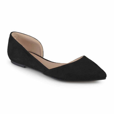 Journee Collection Womens Ester Ballet Flats Pointed Toe