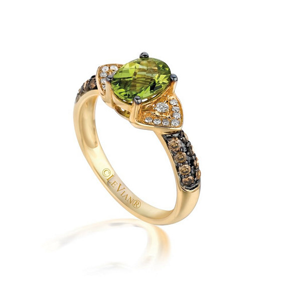 Grand Sample Sale™ by Le Vian Green Apple Peridot™ & 1 3 CT T W