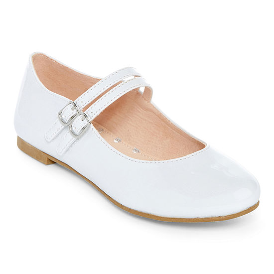 Christie & Jill Little Kids Girls Tulip Double Strap Mary Jane Shoes