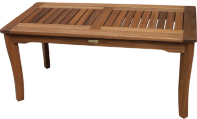 Outdoor Interiors Brazilian Eucalyptus Coffee Table