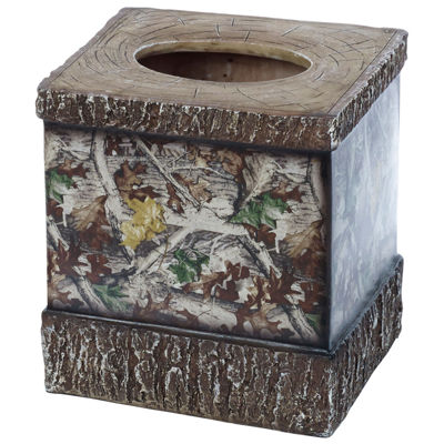 HiEnd Accents Camo Tissue Box Cover
