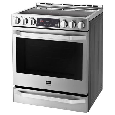 LG 6.3 cu. ft. Electric Slide-in Range