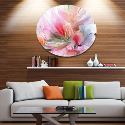 Designart Lovely Painted Floral Design Extra LargeFloral Wall Art