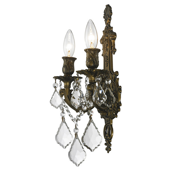Versailles Collection 2 Light Crystal Wall Sconce