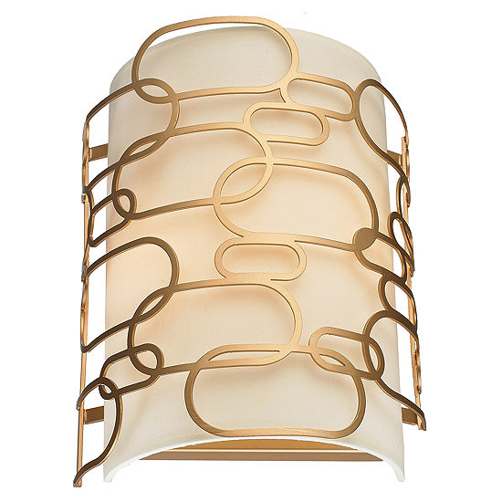 """Montauk Collection 2 Light Matte Finish Wall Sconce W9"""" H13"""""""