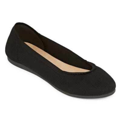Pop Womens Elixir Ballet Flats Slip-on Closed Toe