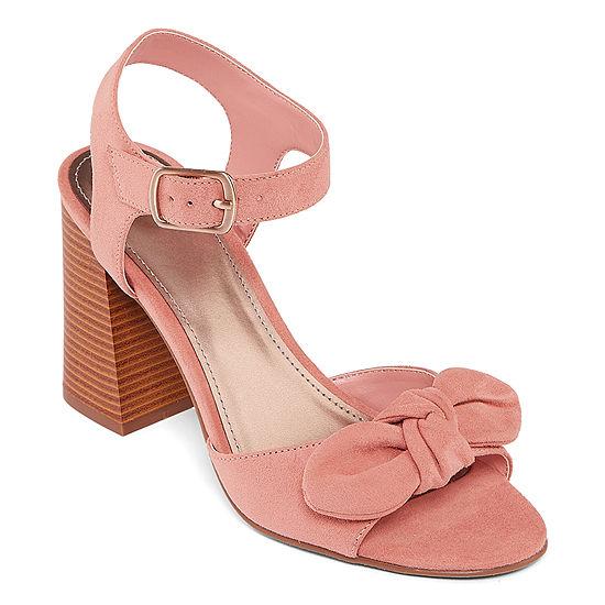 Worthington Womens Bracken Heeled Sandals