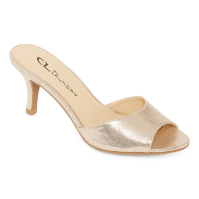 CL by Laundry Womens Joie Heeled Sandals