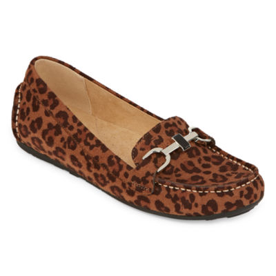 Liz Claiborne Womens Ashton Loafers Slip-on Round Toe