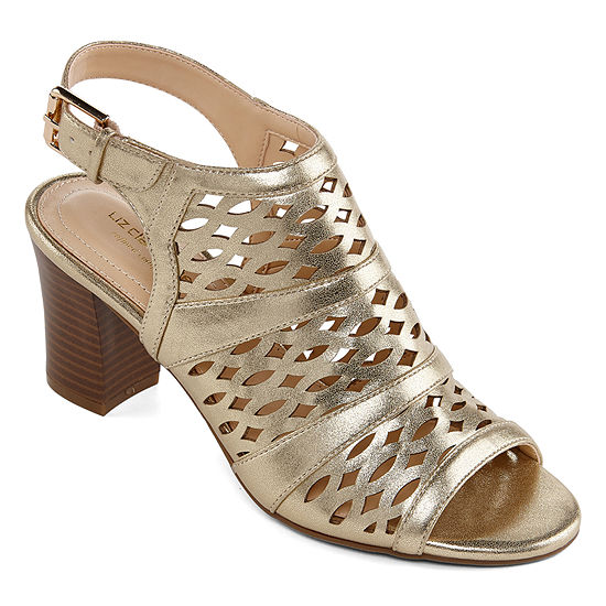 Liz Claiborne Womens Gloria Heeled Sandals