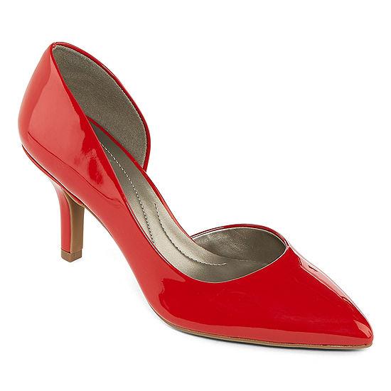 east 5th Womens Daven Pumps Slip-on Closed Toe Stiletto Heel