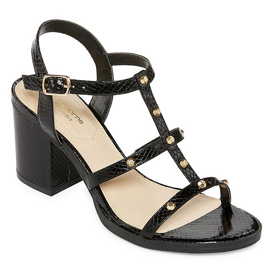 Liz Claiborne Womens Kane Adjustable Strap Gladiator Sandals