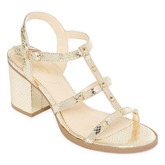 Liz Claiborne Womens Kane Adjustable Strap Gladiator Sandals