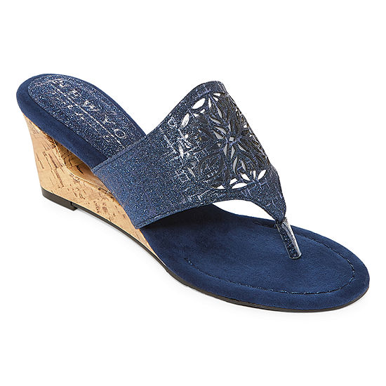 New York Transit Womens Festival For All Wedge Sandals