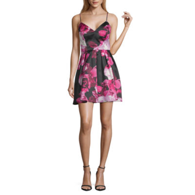 Jump Apparel Sleeveless Party Dress-Juniors