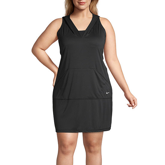 Nike Knit Swimsuit Cover-Up Dress-Plus