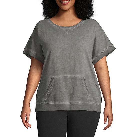 Xersion Women's Short Sleeve Dolman - Plus