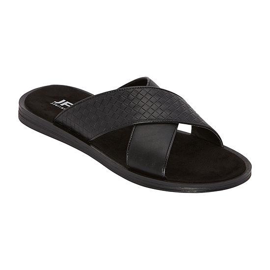 JF J.Ferrar Mens Fulton Slide Sandals