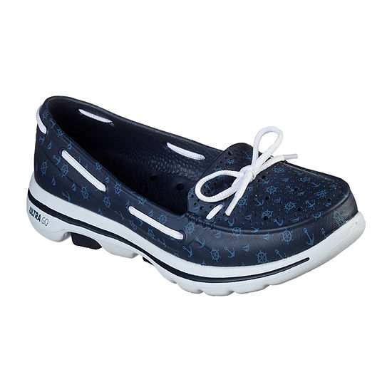 Skechers Womens Go Walk 5 Cali Gear Boat Shoes